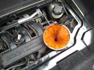 Olie motor
